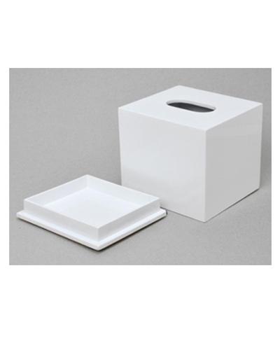 Hộp đựng giấy sơn mài vuông 01