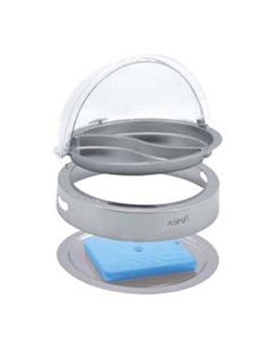 Khay tròn trưng bày thức ăn lạnh ( nắp PC) SC53120-1