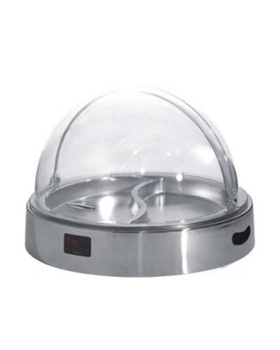 Khay tròn trưng bày thức dùng điện (nắp PC)-KHSK53140-1