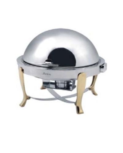 Lò hâm buffet tròn chân vàng AT51161